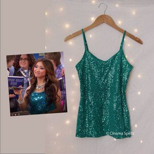 Inspired By:London Tipton Suite Life Sparkly Top